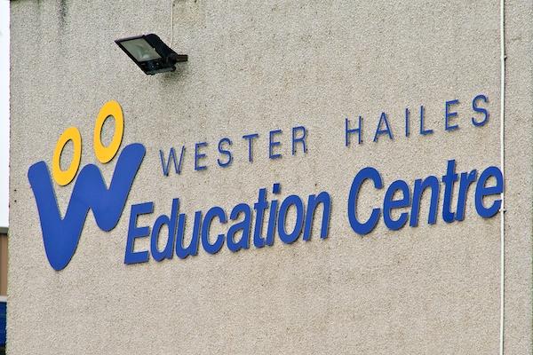 WHEC School Sign