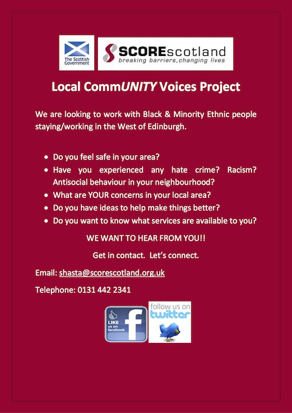 Flyer Local-CommUNITY-Voices-Project