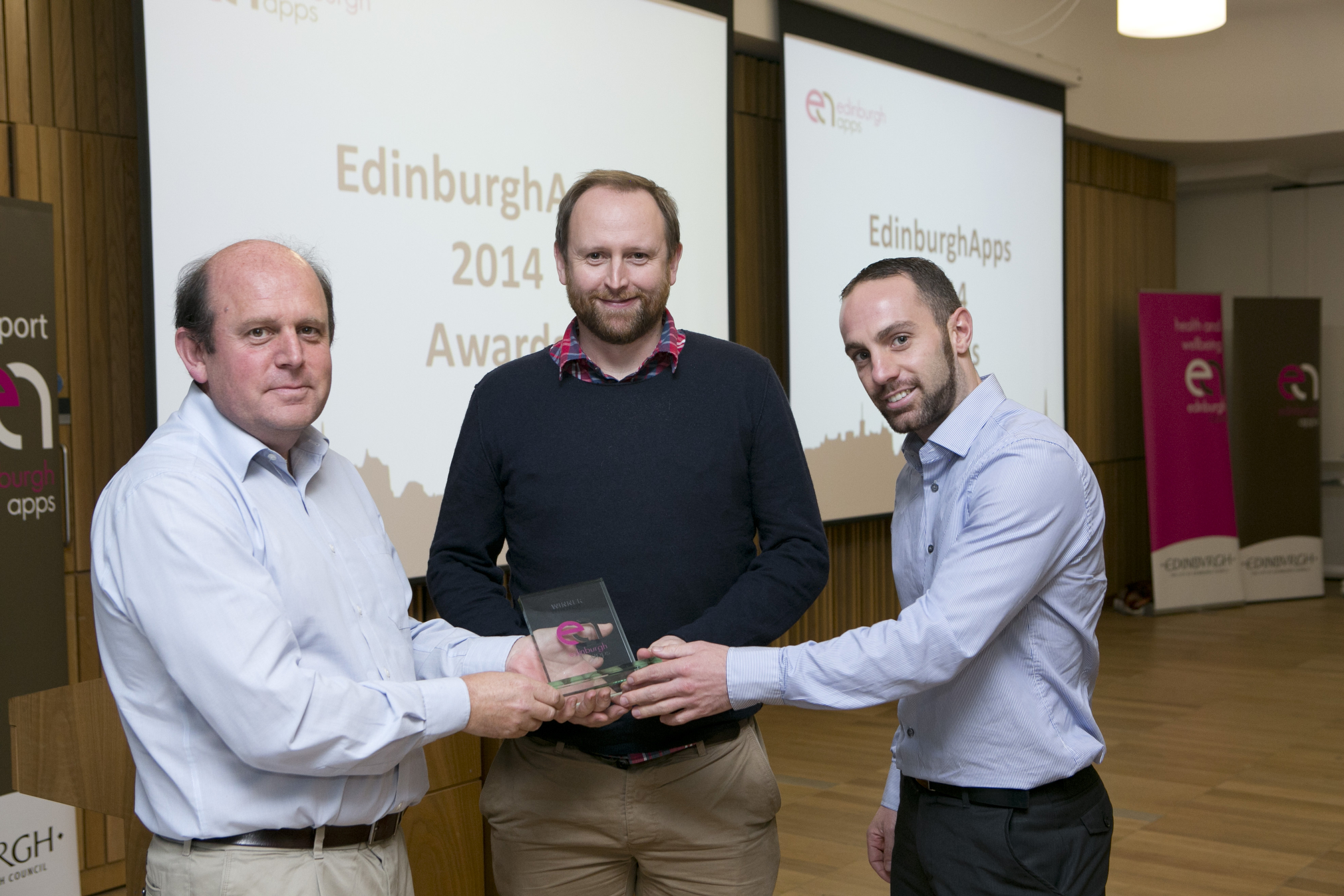 Winners of the Edinburgh Apps competition 2014