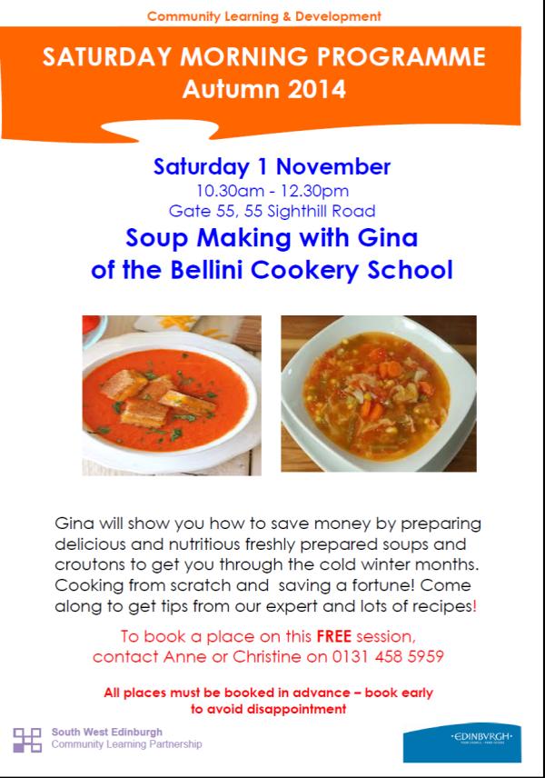 Soup making Class
