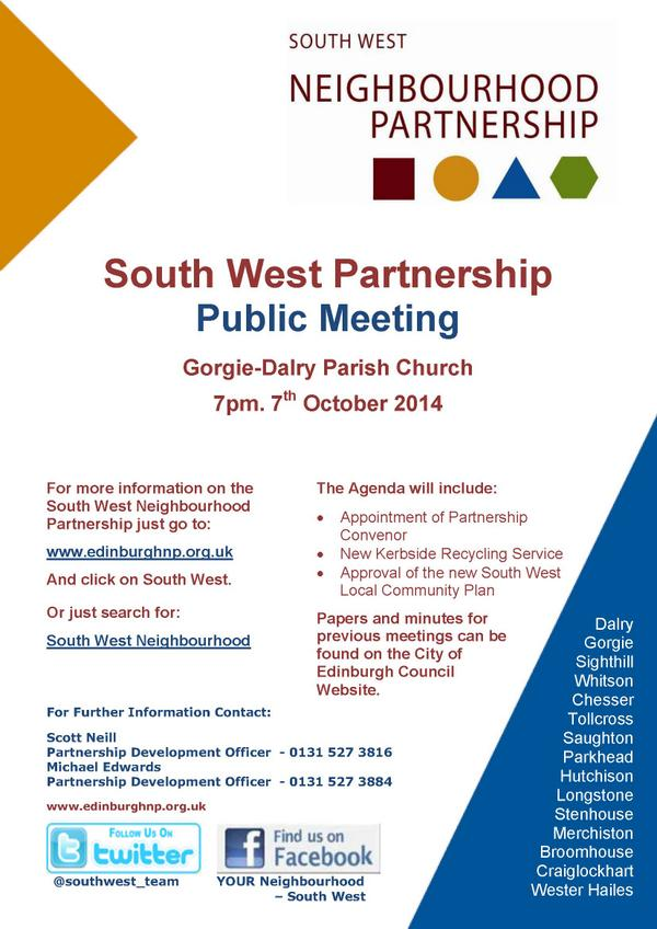 south west partnership meeting