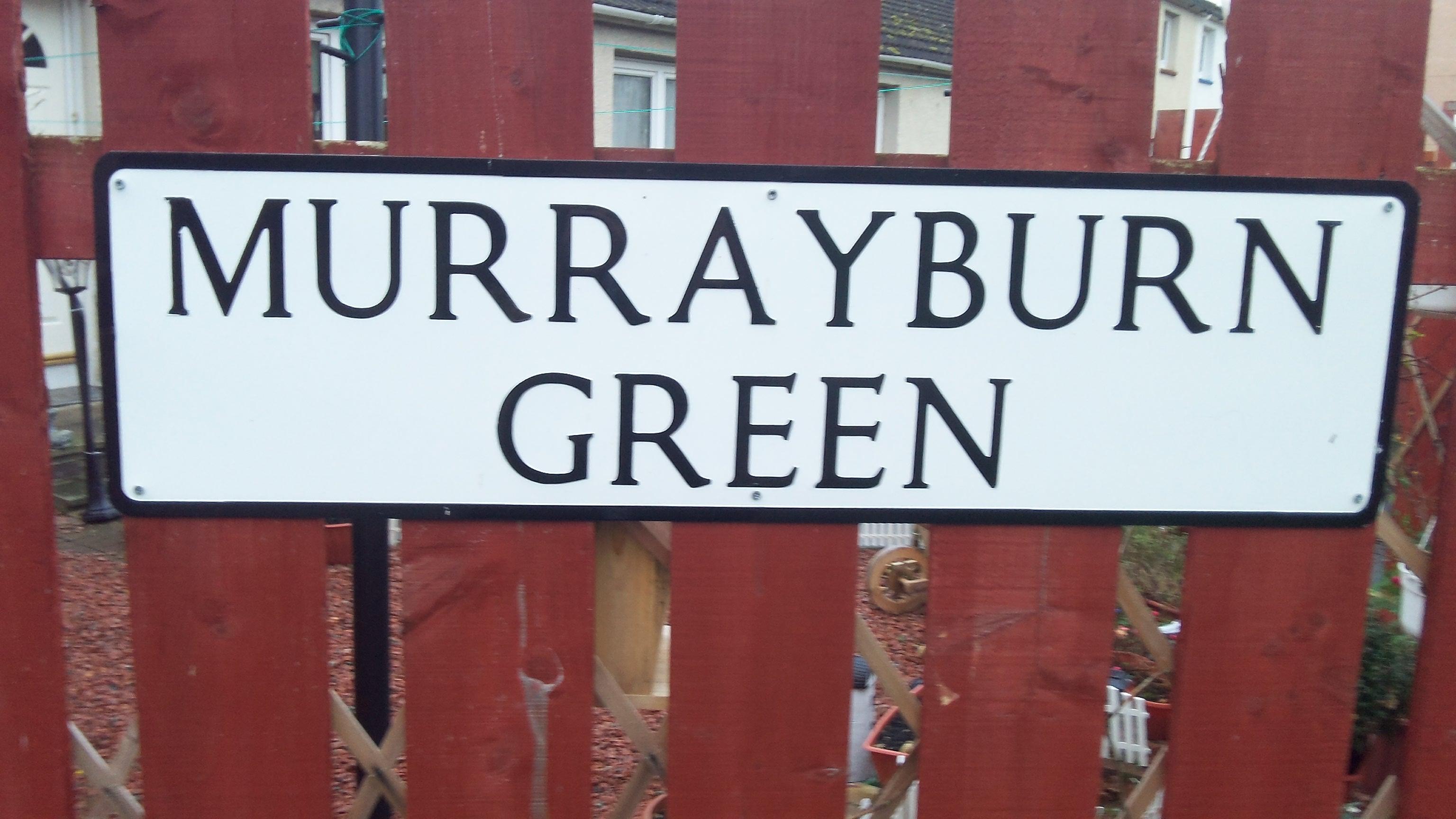 Murrayburn Green Sign
