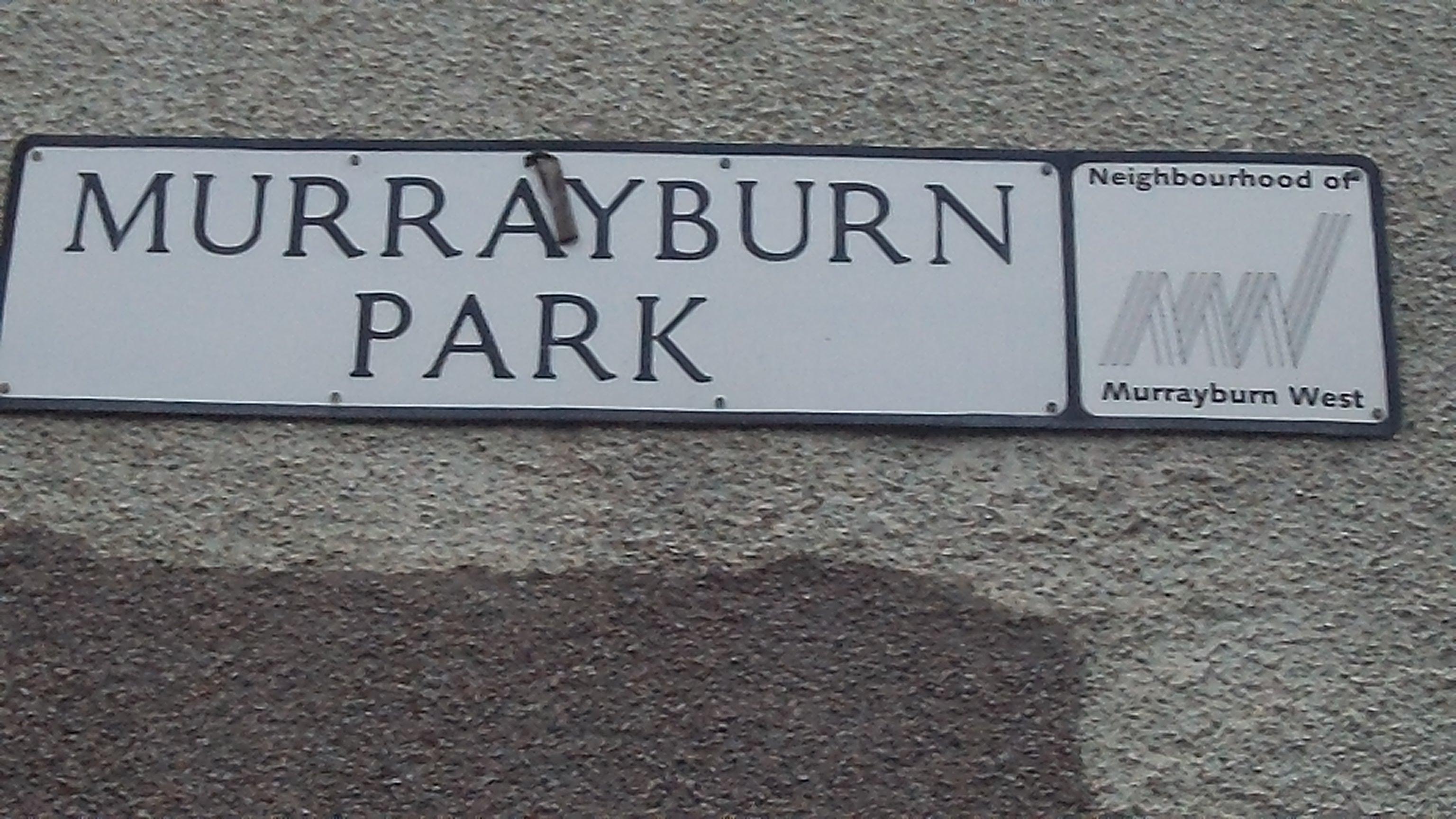 Murrayburn Park Sign