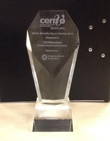 SCOREscotland award