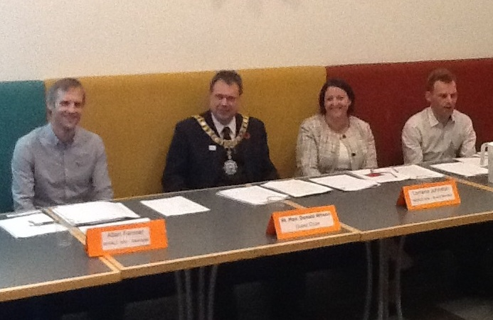 WHALE Arts AGM Lord Provost