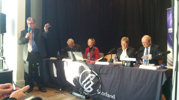 The Big Debate BBC Radio Scotland Gordon Brewer