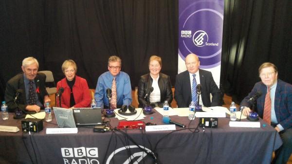 The Big Devate BBC Radio Scotland Gordon Brewer