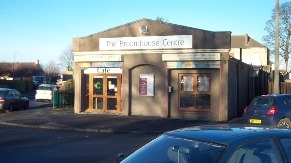 The Broomhouse Centre Sign