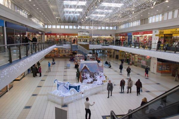 Westside Plaza Christmas 2014