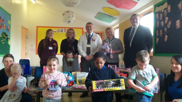 Smile Childcare Nursery Sainsburys Giveaway councillor catherine cathy fullerton alex lunn