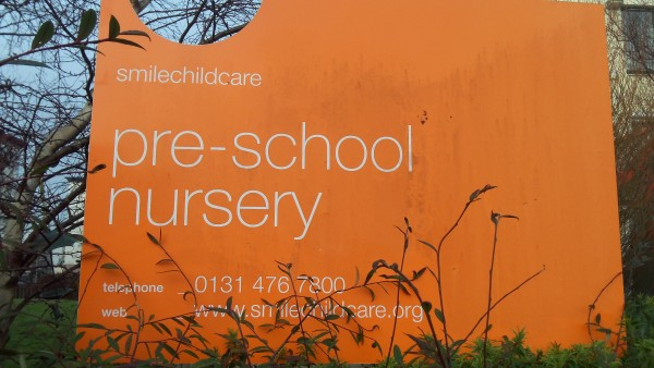 Smile Childcare Nursery Sign Sainsburys Giveaway