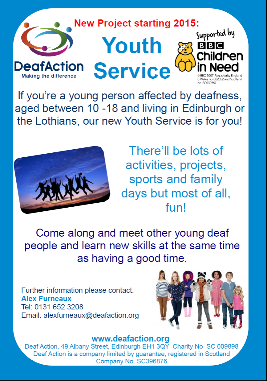 deafaction poster