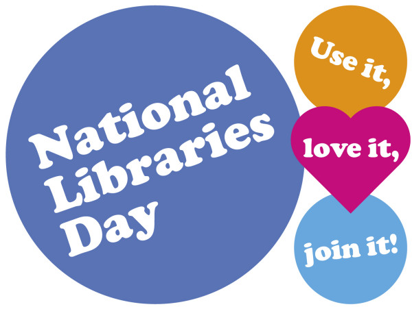 national libraries day logo