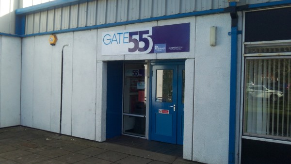 Sighthill Library Gate 55