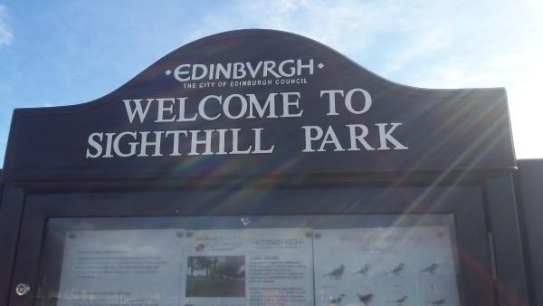 sighthill park sign