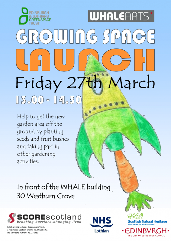 WHALE garden launch poster-1
