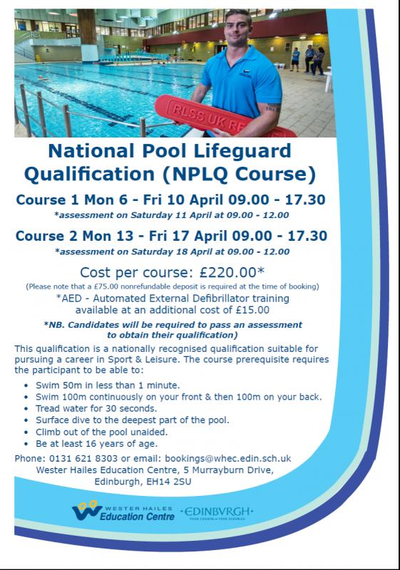 lifeguard course