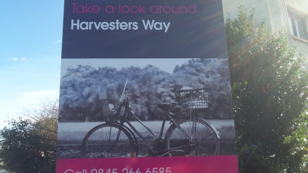 Harvesters Way Sign