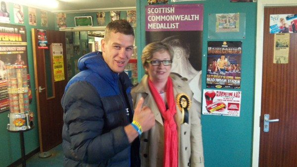 Clovenstone Amateur Boxing Club Alex Salmond SNP Joanna Cherry Craig Mcewan