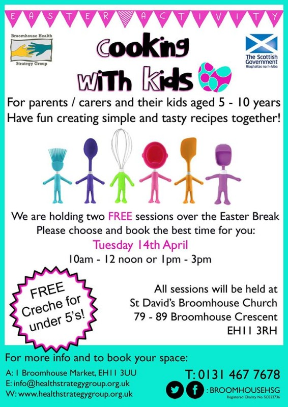 cooking with kids easter