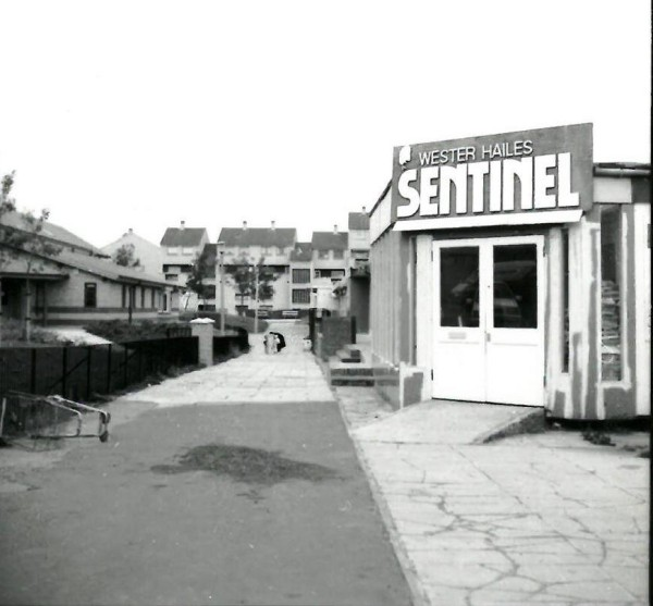 old Sentinel newspaper office