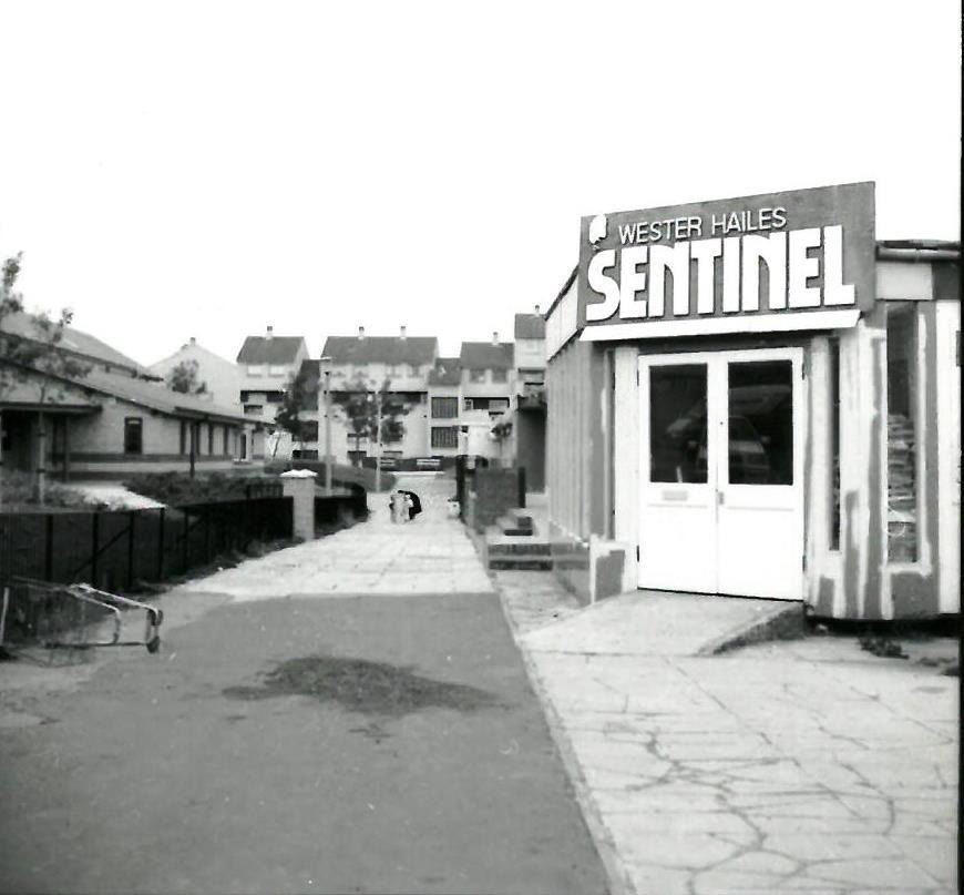 The old Sentinel newspaper office.
