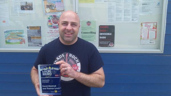 Dads Rock Local Hero Award