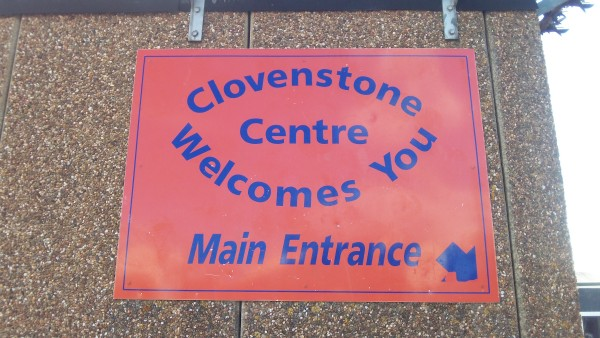 Clovenstone Community Centre sign