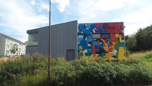 WHALE Arts Mural
