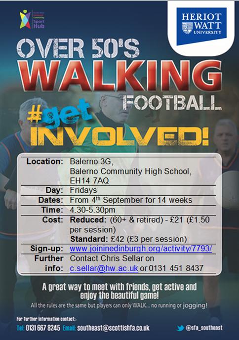 Walking Football poster photo