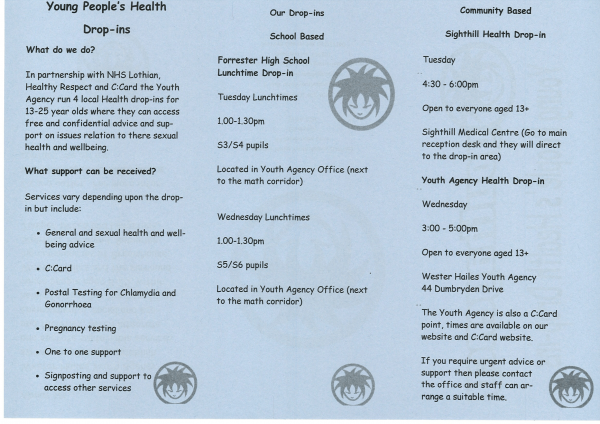 Health Drop-in Information-2