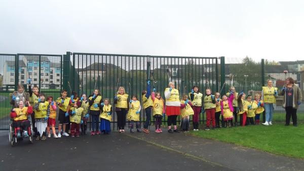 Litter Pick Clovenstone Community Centre