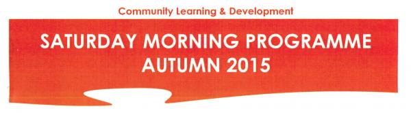 logo saturday morning programme autumn 2015
