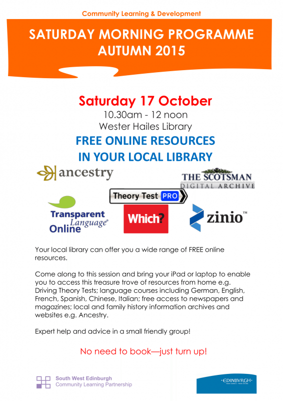 Free Online Resources in your Local Library 17.10.15-1