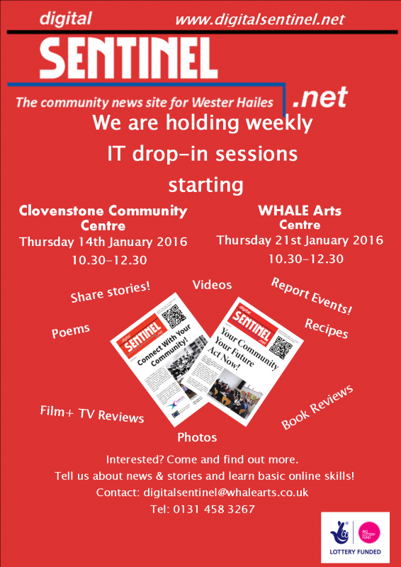 Community News Reporter Weekly Drop-ins lottery