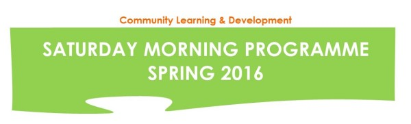 Saturday Morning Programme Spring 2016 logo