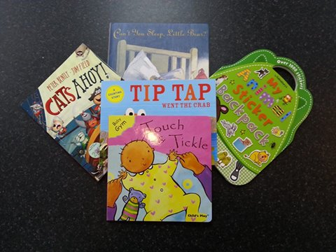 The fantastic selection of books you could win!