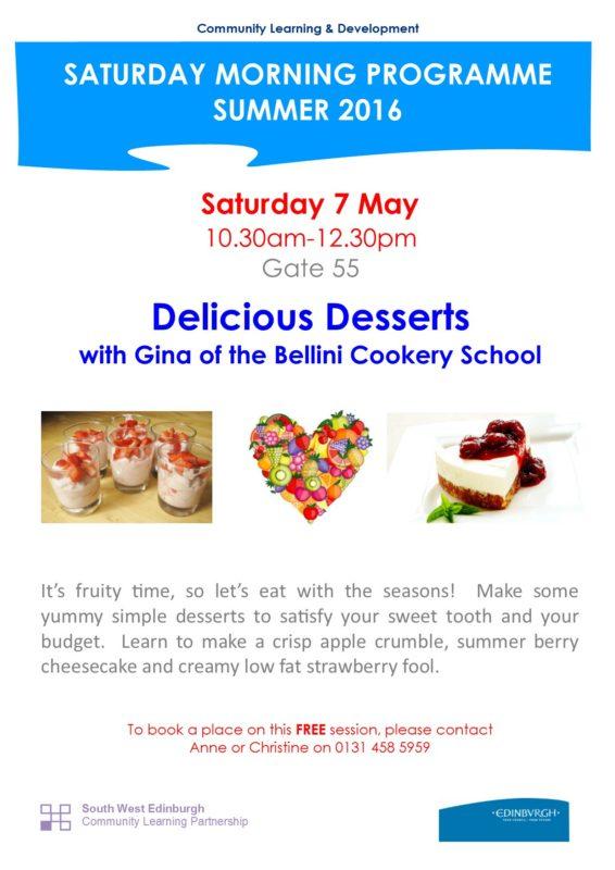 Delicious desserts - 7.5.16