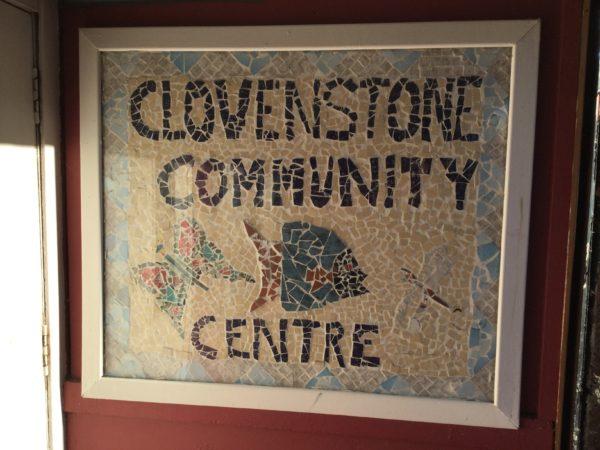 Clovenstone Community Centre sign
