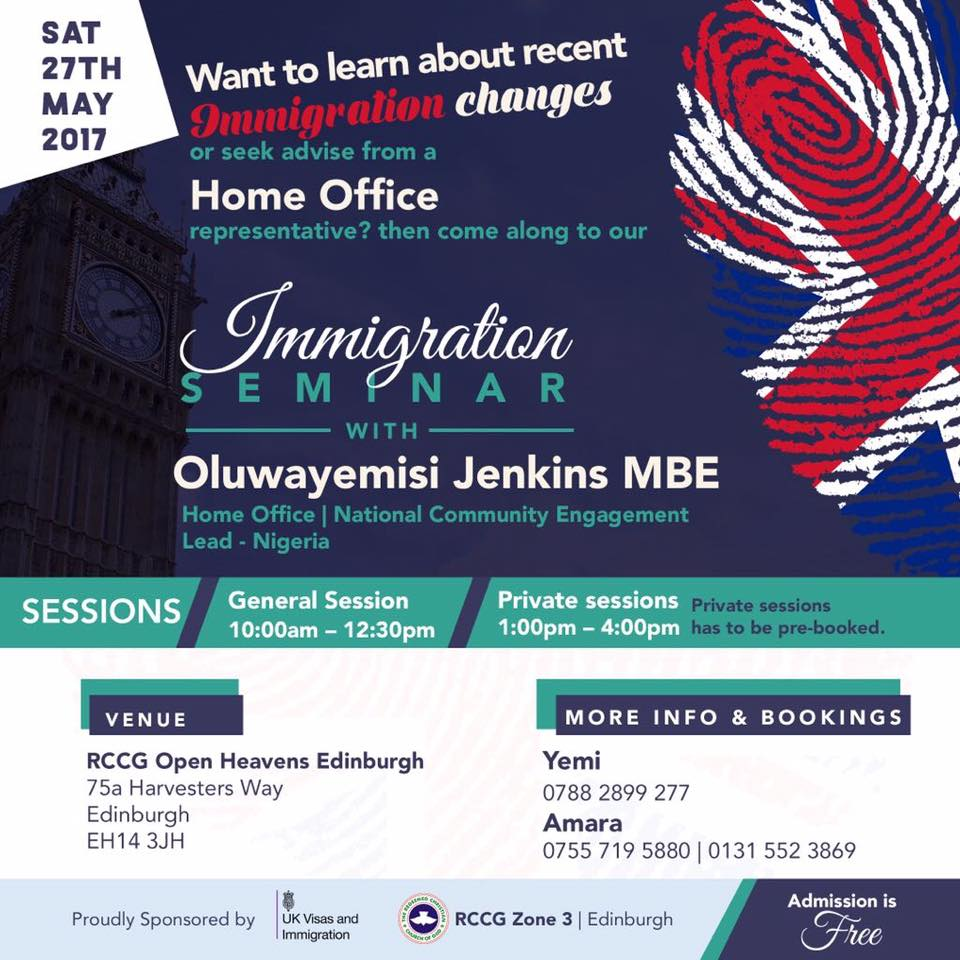 Digital Sentinel Immigration Seminar At Open Heavens Church