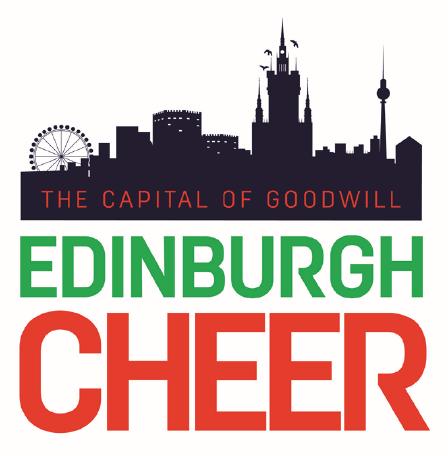 Edinburgh Cheer Logo
