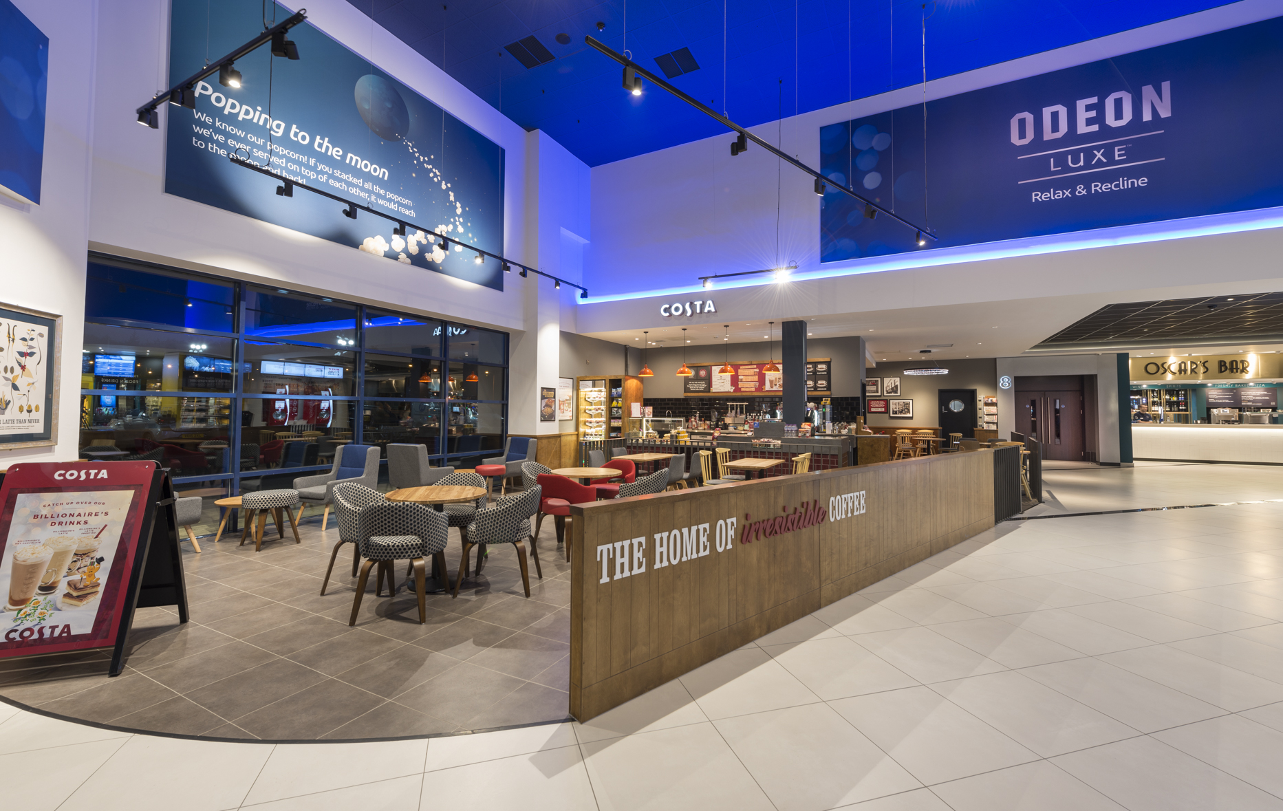 Digital Sentinel Costa Barista Vacancy At Odeon Luxe